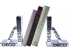 Podpórka na Książki Design (2/Set) — Podpórki na książki — KARE® Design