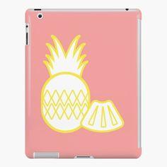 « Ananas Doré Jaune » par LenysEcoHome | Redbubble Coque Ipad, Gold Pineapple, Golden Color, Symbols, Texture, Surface Finish, Glyphs, Icons, Pattern
