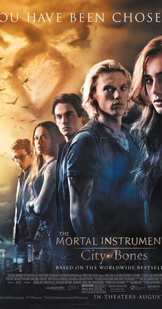 Directed by Harald Zwart.  With Lily Collins, Jamie Campbell Bower, Robert Sheehan, Jemima West. When her mother disappears, Clary Fray learns that she descends from a line of warriors who protect our world from demons. She joins forces with others like her and heads into a dangerous alternate New York called Downworld.