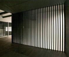 Vertical Timber Screen