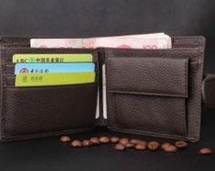 Kvalitná pánska kožená peňaženka z eko kože (5)