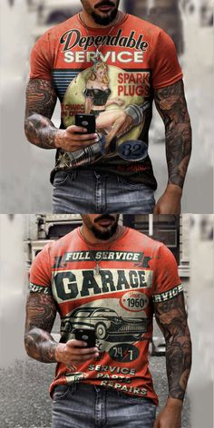 Men Printed design t-shirts and shorts for summer, free shipping on order $59. Shop now. #men #tshirts #print #fashion #summer Men Shirts, T Shirt And Shorts, Summer Shorts, Summer Sale, Motorcycle Jacket, Print Design, Long Sleeve Shirts, Shop Now, Mens Fashion