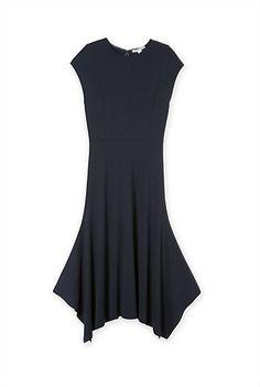 Pique Handkerchief Dress Handkerchief Dress, What To Wear, Blazer, Spring 2015, Dresses, Fashion, Pique, Vestidos, Moda