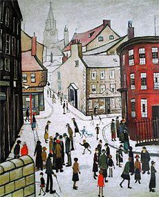 L.S. Lowry, Berwick-on-Tweed