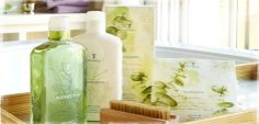 Another must-have.  Eucalyptus scent.  Thank you Marianne for turning me on to the body wash and body lotion.