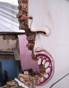 Brazillian Streetart.. . Tags: art, streetart, graffiti, painting