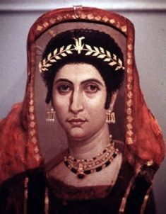 In ancient Rome brides wore a fire-red veil, the flammeum, a symbolic reference to love and fertility.