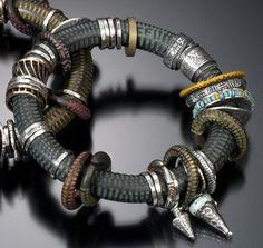 Stunning bracelet. www.celiefago.com