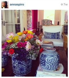 Blue and White Monday -- Insta Blue