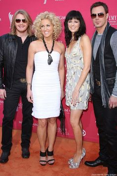 Little Big Town! Freddy and i are going to see them with Keith Urban in august!  so excited!