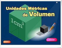 """""""Unidades Métricas de Volumen"""" (Animación de Matemáticas) Logos, Maths Area, Teaching Resources, United States, Learning, Logo"""