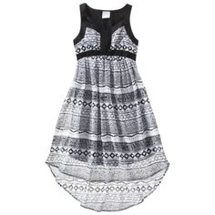 D-Signed Girls Dress - BlackWhite $25.......... OMG!!!!!soooooooooooo cute! And so me!!!!!!!!!