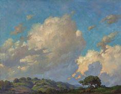 Paul Grimm - cloud paintings