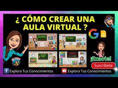 ¿CÓMO CREAR UNA AULA VIRTUAL? - YouTube Apps For Teaching, Google Classroom, Helpful Hints, Teacher, The Unit, Technology, Marketing, Education, Learning