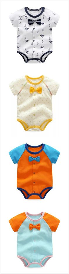 Boys Or Girls Stripes and Spot Infant Toddler Onezees All in One
