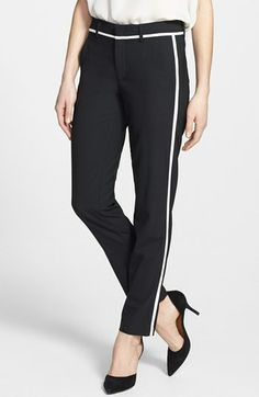 Vince Skinny Strapping Trousers available at #Nordstrom..love them!