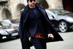 Paris Men's Fashion Week Fall 2015  - Paris Men's Fashion Week Fall 2015 Street Style Day 1