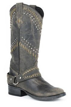Stetson Women's Shiloh Cowgirl Boot Round Toe - 12-021-7601-0761 Bl ** Continue to the product at the image link.