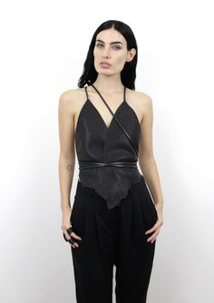 ANU TERA STRAP VEST | Sisters Of The Black Moon