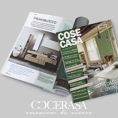 Cose di Casa - Febbraio 2018 #press #release #magazine #advertising #casa #home #homedesign #design