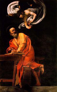 Inspiration of St. Matthew. Carrevagio