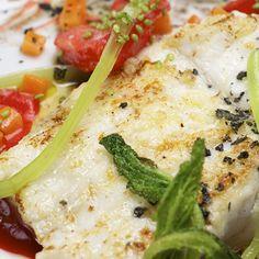 FLAIGELLA: Peixe assado com hortaliças - receita pontuada
