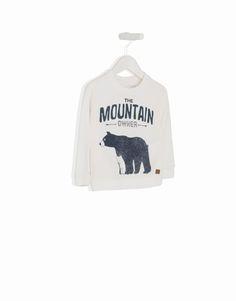 lefties bear sweater baby print