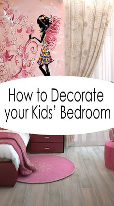 10 Easy Tips on How to Decorate Your Kids' Bedroom 7th Birthday Party Ideas, Kids Birthday Party Invitations, 10th Birthday, Party Favors, Horse Pinata, Unicorn Pinata, Unicorn Party, Kids Bedroom, Childrens Bedroom