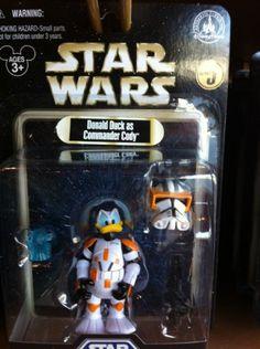 Disney Star Wars Series 5 Donald Duck as Commander Cody Figurine NEW SEALED Disney http://www.amazon.com/dp/B007LTXDQQ/ref=cm_sw_r_pi_dp_DAvVvb0N5TKVP