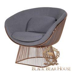 Fotel Axilla Manhattan Glam