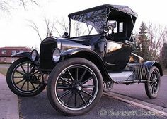 1921 Ford Model T. I want one like crazy!