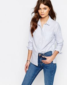 Image 1 of New Look Stripe Shirt
