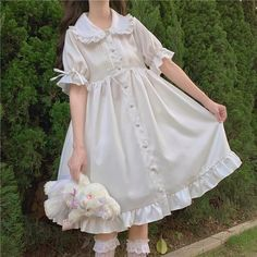 Kawaii Fashion, Lolita Fashion, Cute Fashion, Emo Fashion, Rock Fashion, Gothic Fashion, Kawaii Dress, Kawaii Clothes, One Piece Dress