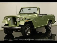 1970 Jeepster Commando Jeep Cars, Jeep Truck, Chevy Trucks, Jeep Tj, Jeep Willys, Jeep Wrangler, Jeepster Commando, Cool Jeeps, Jeep Cherokee