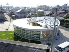 Inside Shigeru Ban's Kid-Centric Cardboard Community Center - Shigeru Ban Wire -