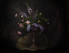 Floral portrait by Laura Tait Photography