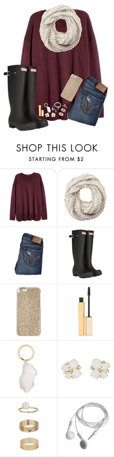 """I don't want to go back to school!"" by ab1525 ❤ liked on Polyvore featuring Cejon, Hollister Co., Hunter, Michael Kors, Stila, BP., Kate Spade and Miss Selfridge"