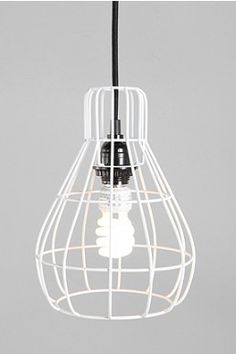 Cage Pendant Lamp