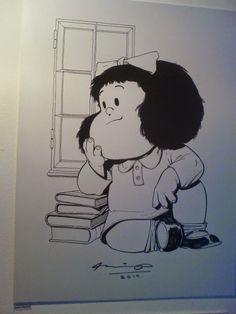 Mafalda de Quino, por Ariel Olivetti (2014)