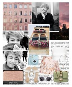 """""""I don't wanna say goodbye to another night, and watch you walk away. And I don't wanna let it burn in the city lights, and make the same mistakes, this time. // Set #258"""" by sammisolace ❤ liked on Polyvore featuring xO Design, STELLA McCARTNEY, Topshop, ASOS, Valentino, Fujifilm and Illesteva"""