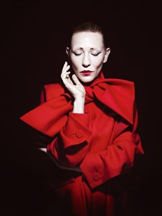 Cate Blanchett by Willy Vanderperre - Christian Dior fall 2013