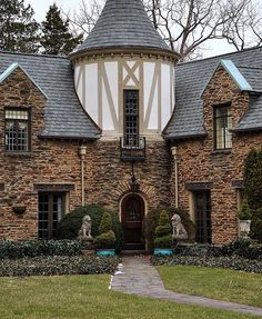 Stone house in Narberth, Pennsylvania, USA
