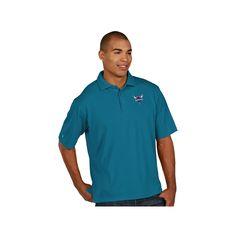 Men's Antigua Charlotte Hornets Pique Xtra-Lite Polo, Size: Large, White Oth