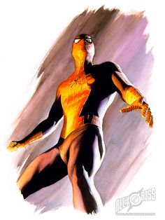 Spiderman The Movie - Alex Ross Spiderman 2002, Comics Spiderman, Marvel Comics, Hq Marvel, Amazing Spiderman, Marvel Heroes, Spiderman Sam Raimi, Alex Ross, Comic Book Artists