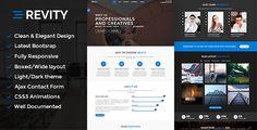 Revity - Multipurpose Responsive WordPress Theme by Ninetheme REVITY MULTIPURPOSE RESPONSIVE ONE PAGE MULTI PAGE WORDPRESS THEMEREVITY is a simpleResponsive WordPress Creative Business Theme,