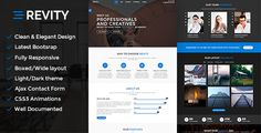 Revity - Multipurpose Responsive WordPress Theme - Portfolio Creative