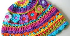 Colorful Hat - Free Pattern