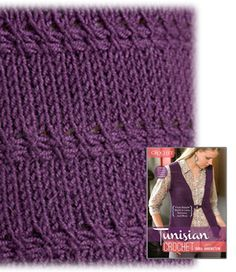 No Link. I like the pattern: 2 rows of simple stitch interspaced between rows of knit-stitch.