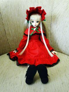 Rozen Maiden - Shinku BJD - 002 by LitaOliveira.deviantart.com on @deviantART