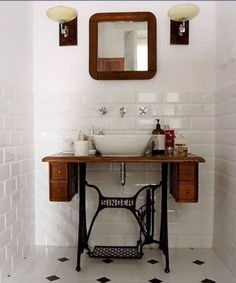 For the antique bathroom.